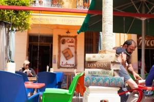 Café con Libros – leuk terras in Málaga centrum