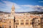 Dak kathedraal Malaga