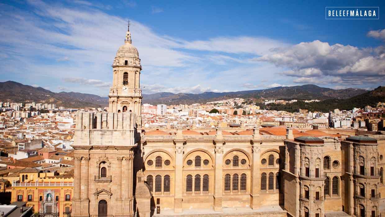 Dak Kathedraal Málaga open voor publiek • Beleef Malaga