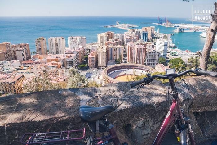 E bike Malaga tour