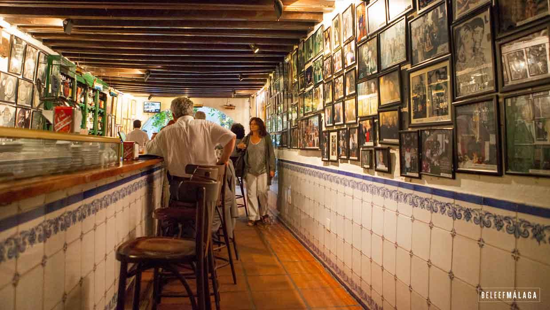 Tapas bodega bar el pimpi restaurant málaga