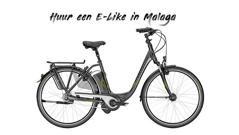 Elektrische fiets Malaga huren