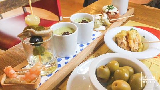 eten in Malaga