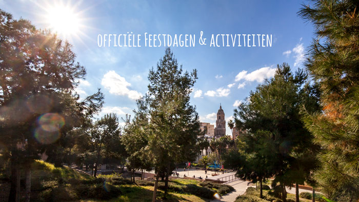 Kalender feestdagen Malaga – Overzicht feestdagen en festiviteiten in Malaga