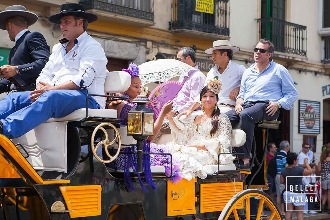 Feria Malaga paarden en koetsen