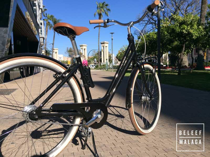 fietsen Malaga huren - bike rental Malaga