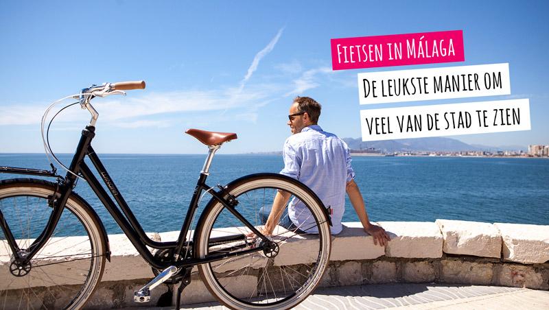 Reserveren fietsen huren in Malaga