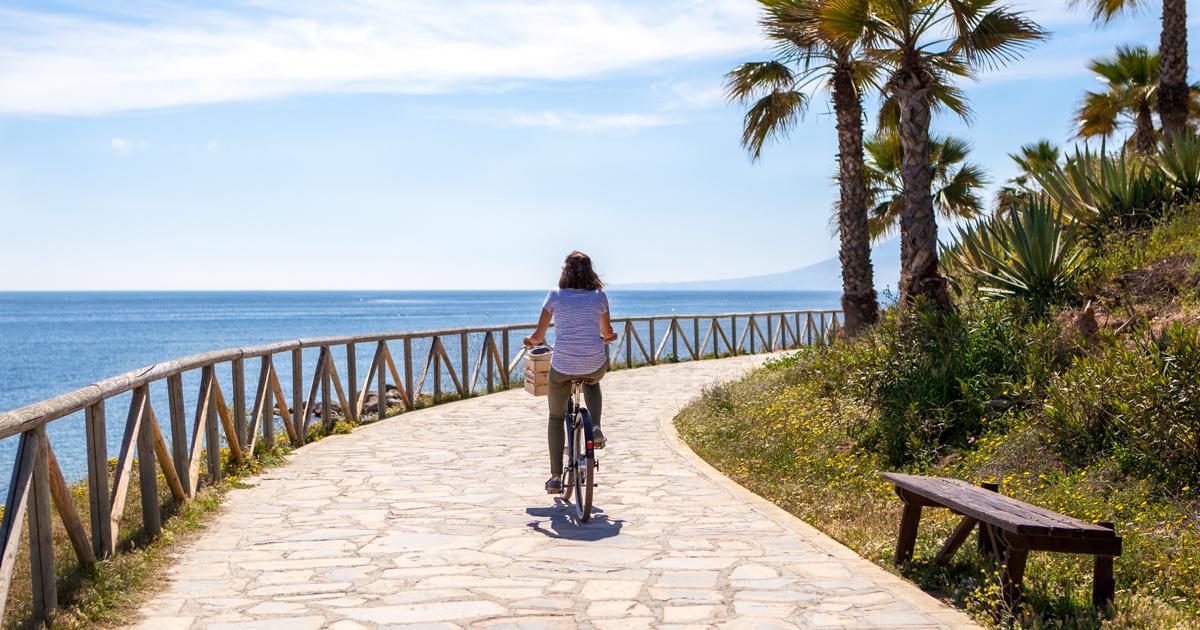 Fietsroute Malaga kust