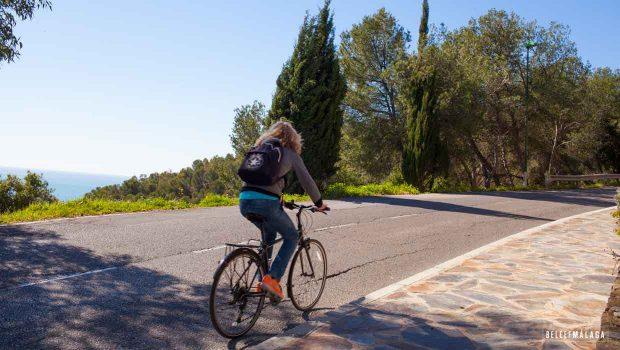 Fietsen Malaga - fietstour panorama