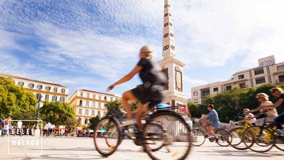 Malaga fietsen - fietsverhuur