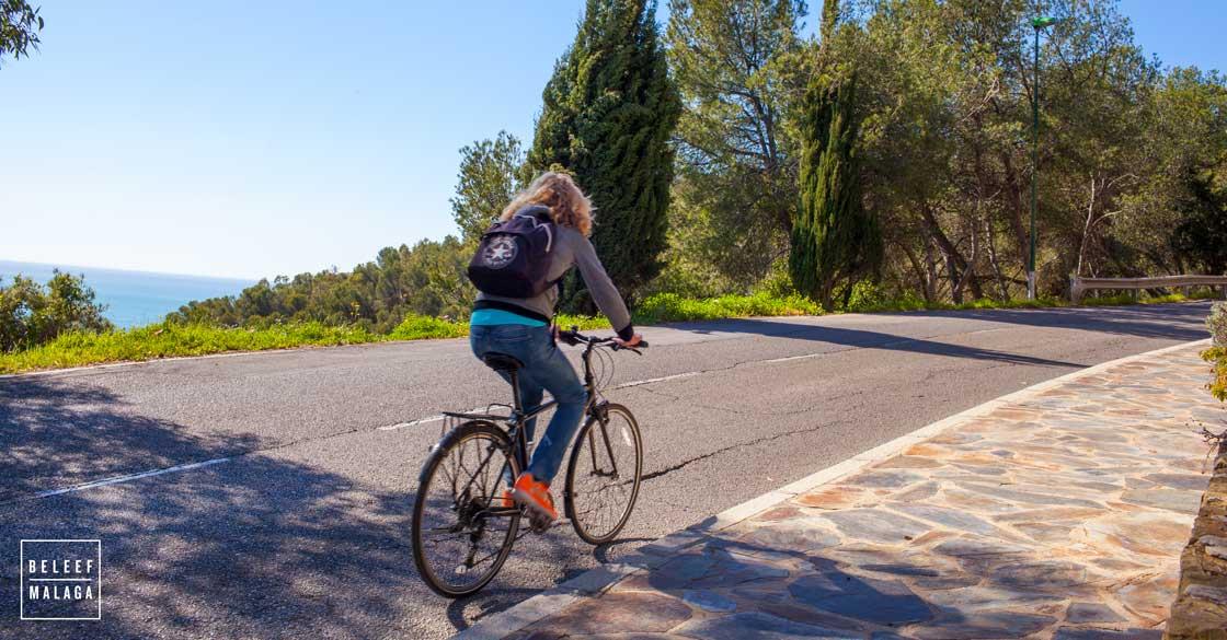 Malaga fietsen winter