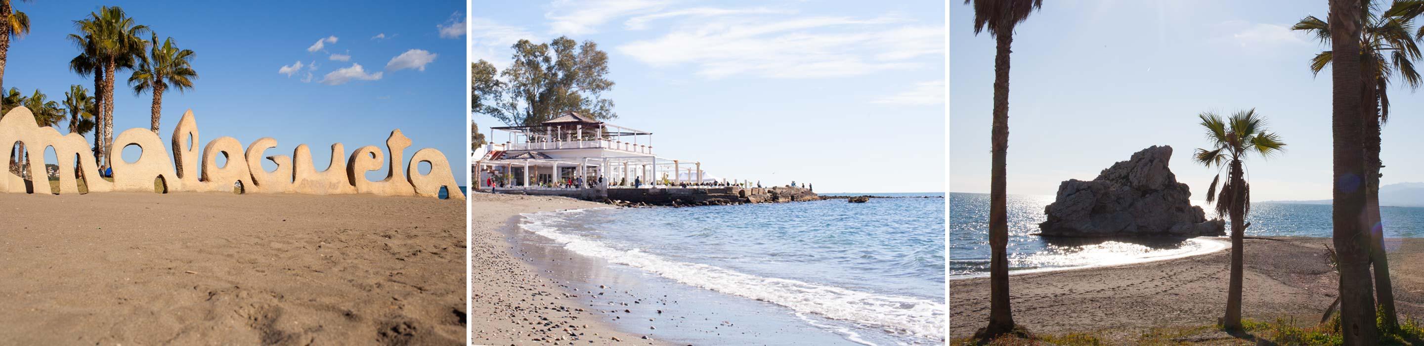 Fietsroute Malaga strand en kust