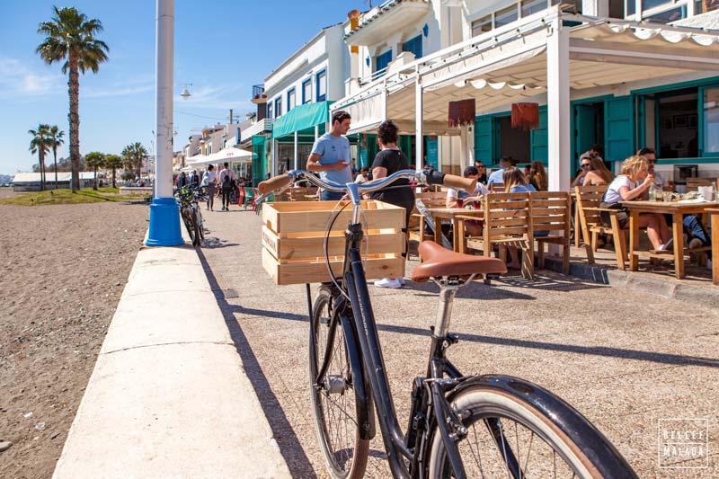 Fietsen langs de kust van Malaga