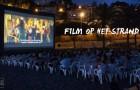 Film op het strand van Málaga