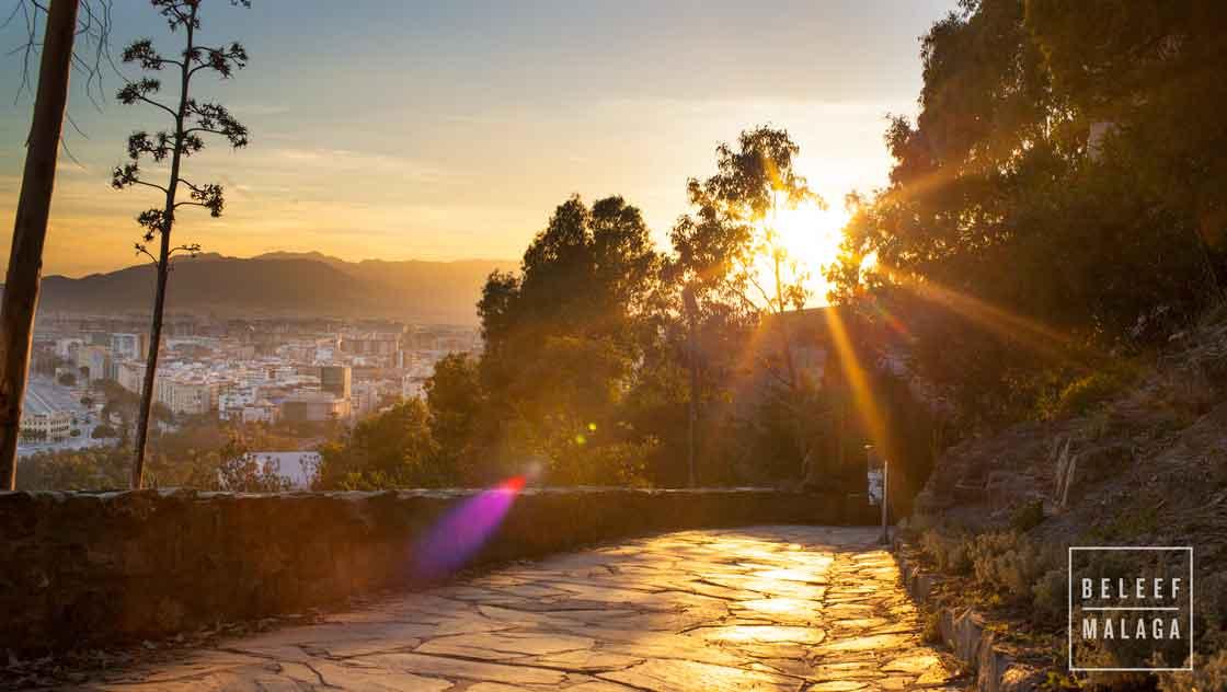 Gibralfaroberg Malaga vakantie