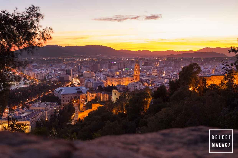 Gibralfaro Malaga stedentrip