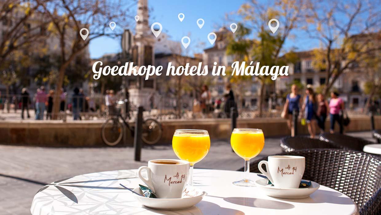 Goedkope hotels in Málaga – Voordelig overnachten