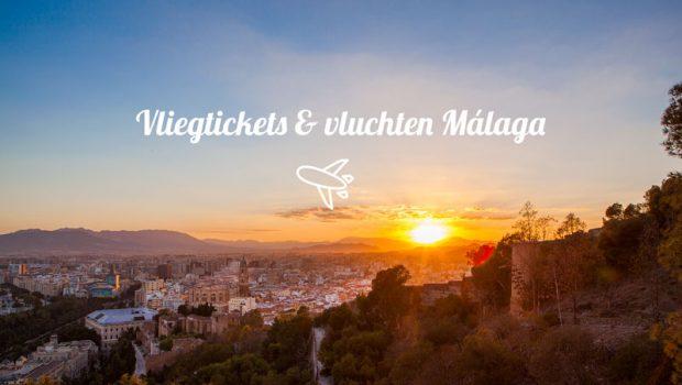 Goedkope vliegtickets Malaga