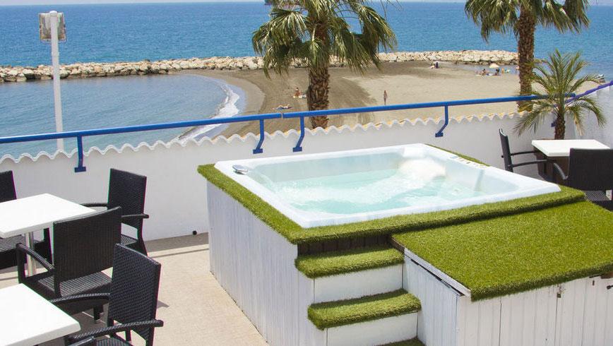 Hotels Málaga aan zee - Hotel strand Malaga