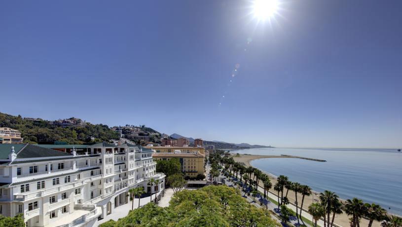 Hotel aan het strand Malaga