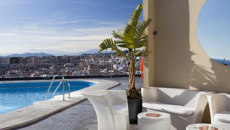 Hotel Malaga zwembad