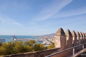 Kasteel Gibralfaro Málaga