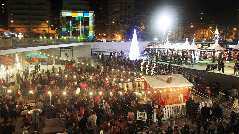 Kerstmarkt Malaga