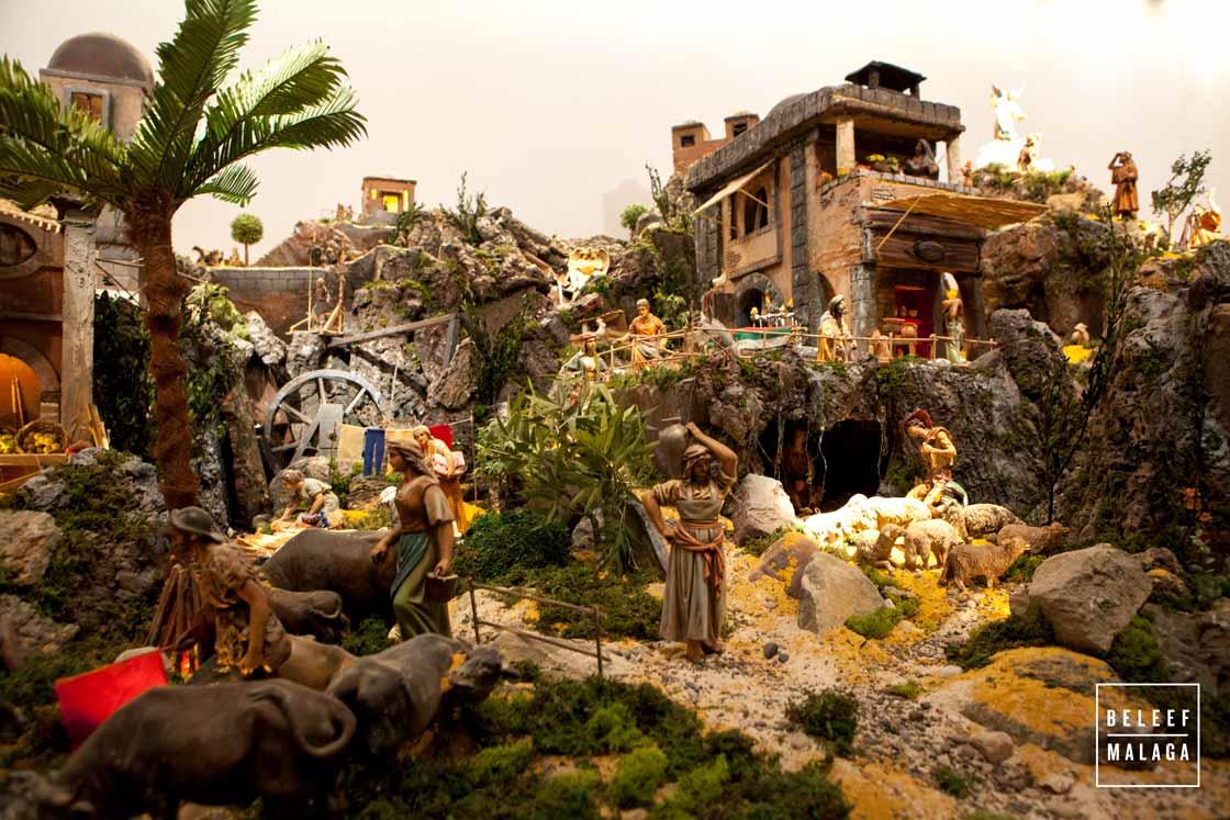 Kerststal Malaga