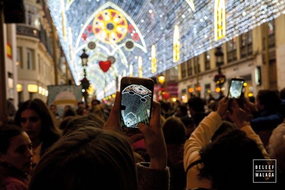 Wanneer gaat de kerstverlichting in Málaga aan? Alles over de feestdagen.