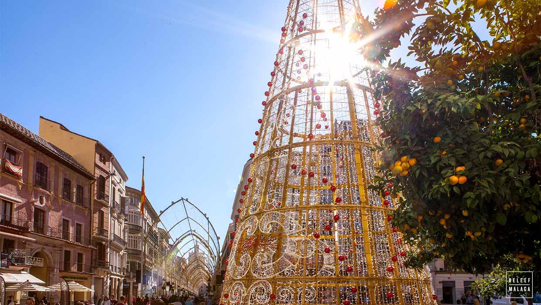 Málaga ruim een maand in kerstsfeer!