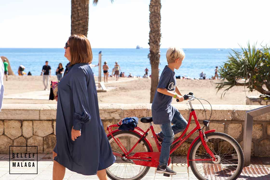 Kinderen Malaga fietsen