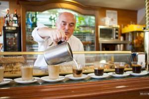 Koffie in Malaga