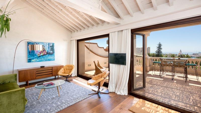 Malaga luxe appartement centrum