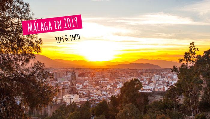 Malaga in 2019, wat is er allemaal te doen? Alle jaarlijkse activiteiten in Malaga