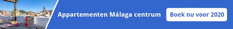 Appartementen Malaga centrum