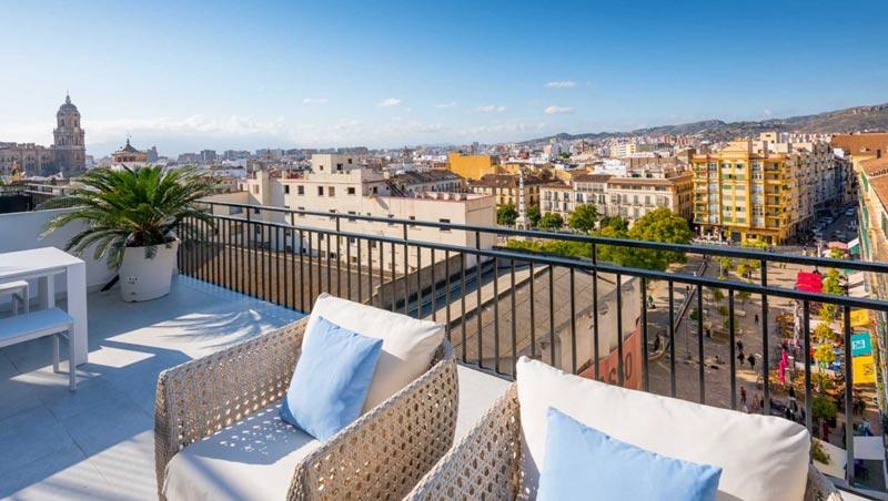 Malaga centrum appartement
