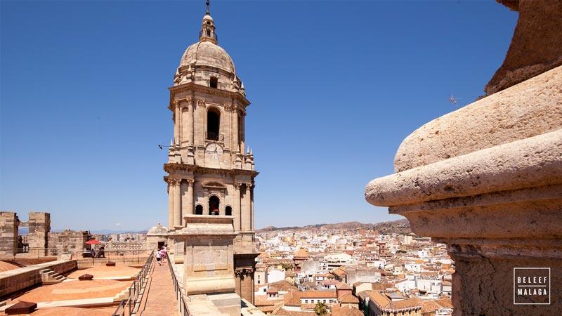 Malaga dak kathedraal