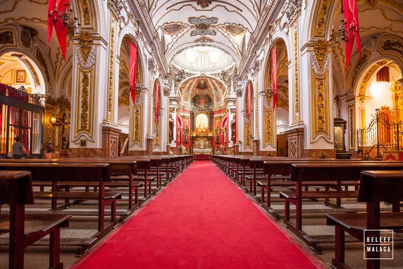 Malaga centrum kerken