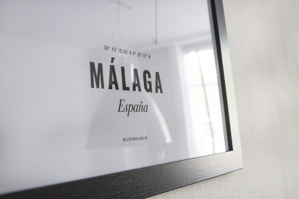 Malaga poster detail
