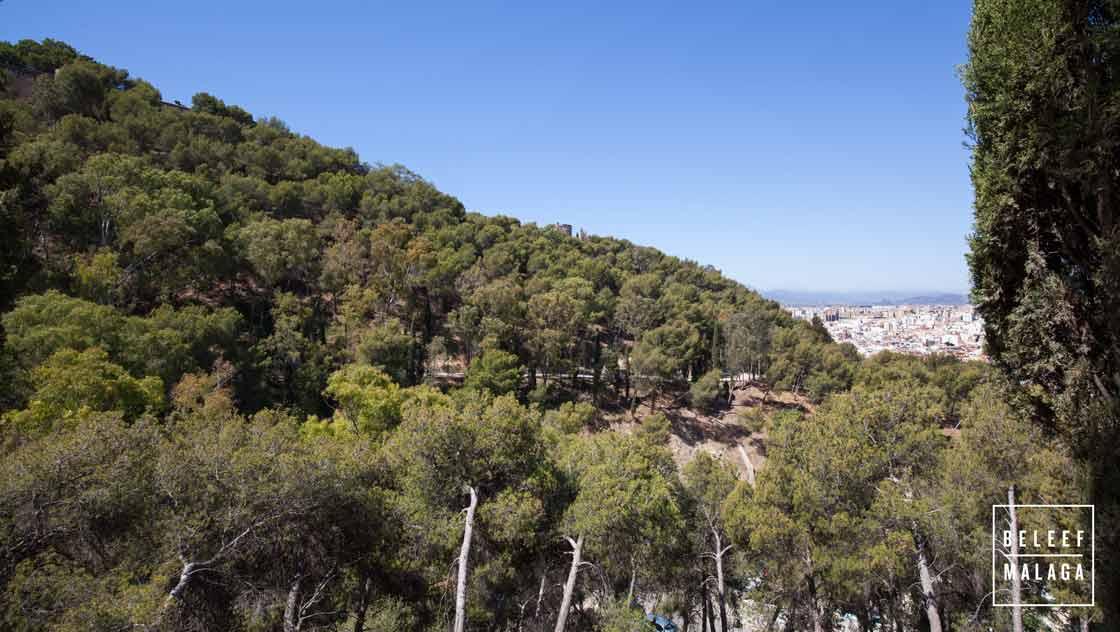 Malaga Gibralfaro - wandelen Malaga