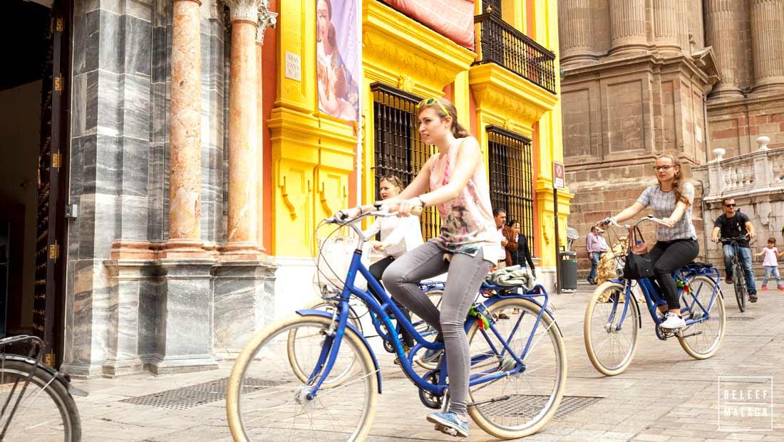 Malaga in een dag - Fietsen