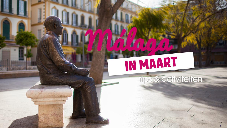 Málaga in maart – tips en activiteiten