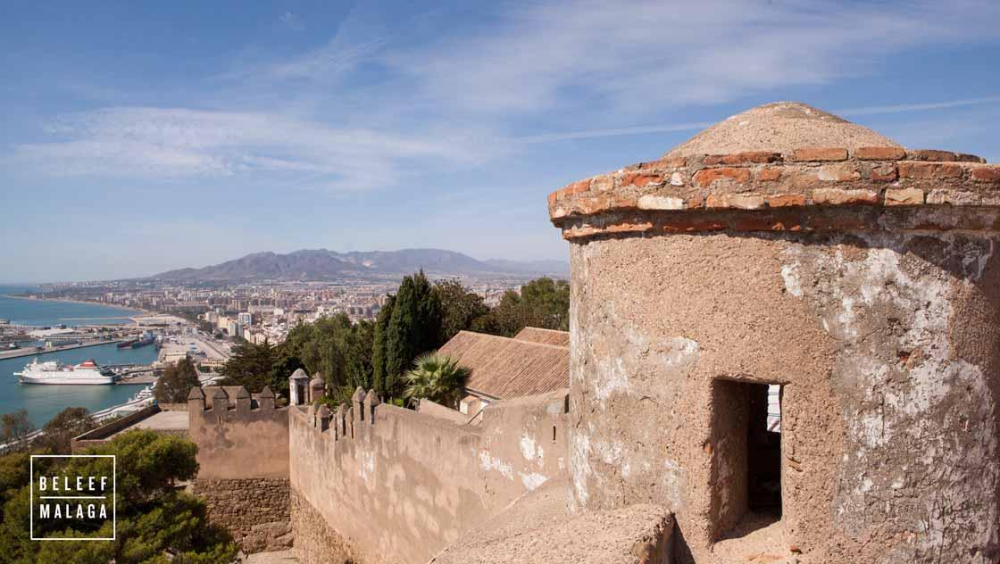 Malaga met kinderen - kasteel