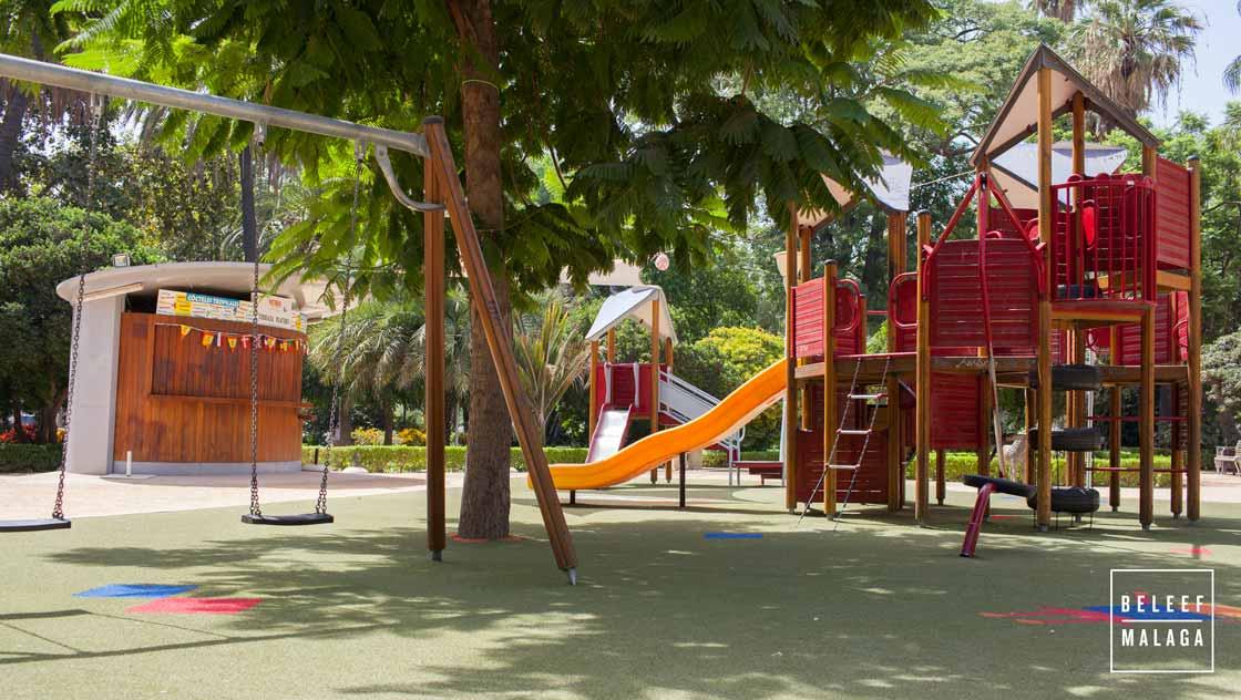 Malaga met kinderen - speeltuin