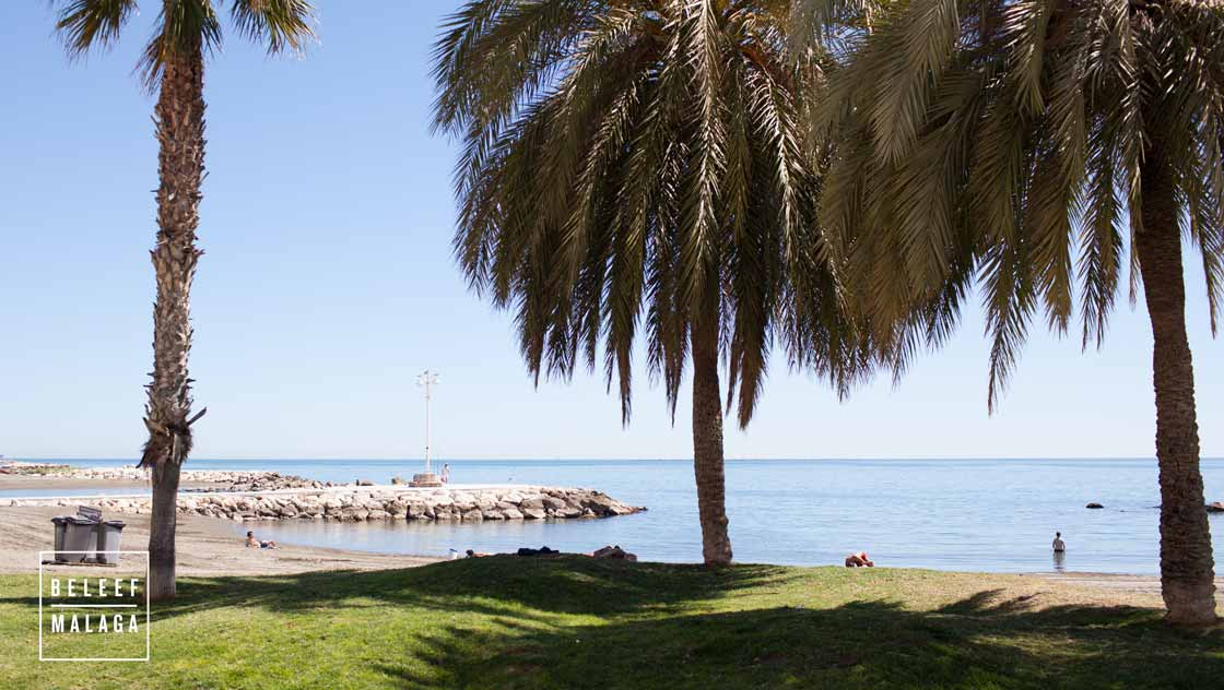 Málaga met kinderen - strand