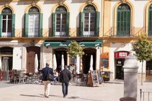 Bistro café Bruselas Málaga