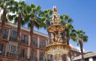 Málaga populair als korte vakantie.