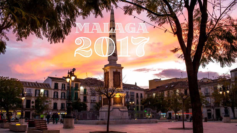 Málaga in 2017