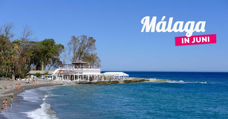 Malaga in juni – Wat is er allemaal te doen?