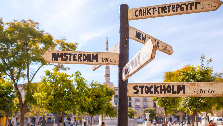Malaga stedentrip vakantie
